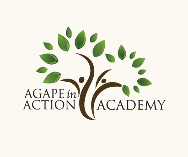 agape-in-action-academy-logo-design