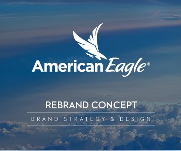 american-eagle-airline-company-logo-design