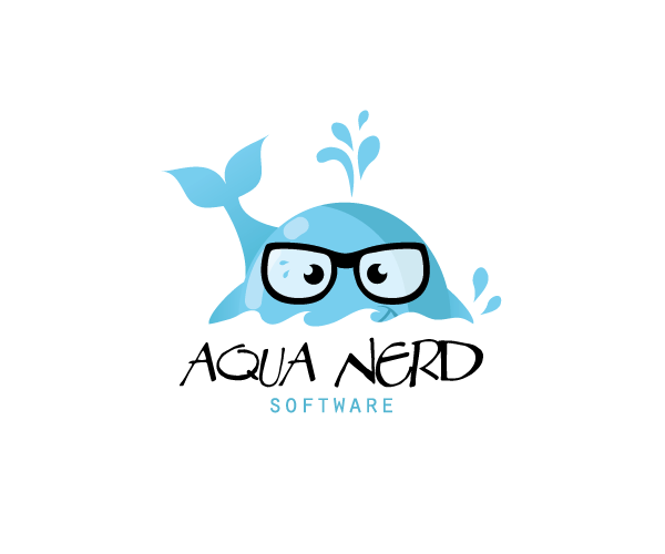 aqua-nerd-software-logo-design