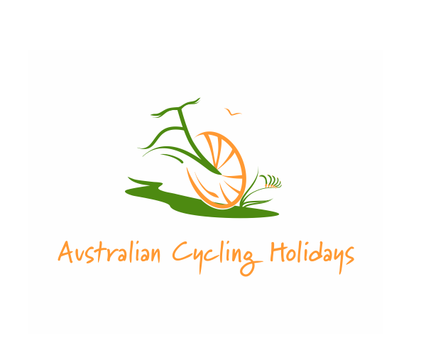 australian-cycling-holidays-logo-design