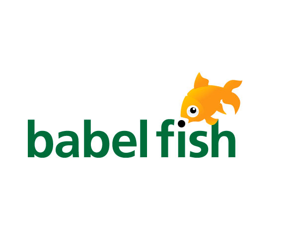 babel-fish-logo-design