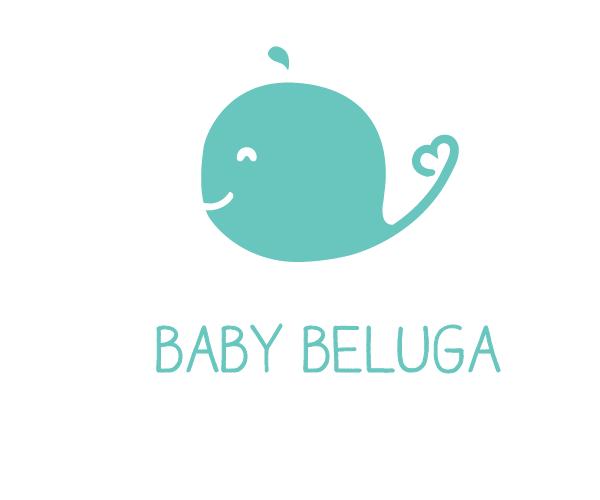 baby-beluga-logo-design