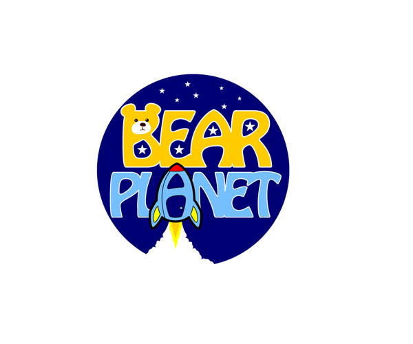 bear-planet-logo-design-for-kids