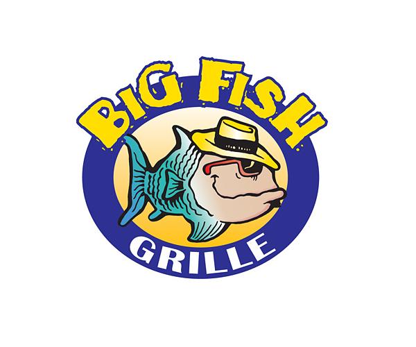 big-fish-grille-logo-design
