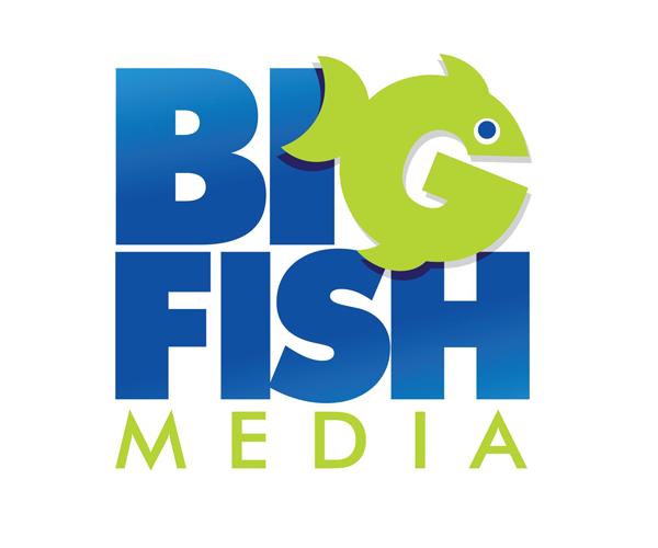 big-fish-media-logo-design