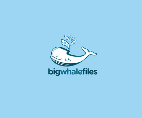 big-whale-files-logo-design