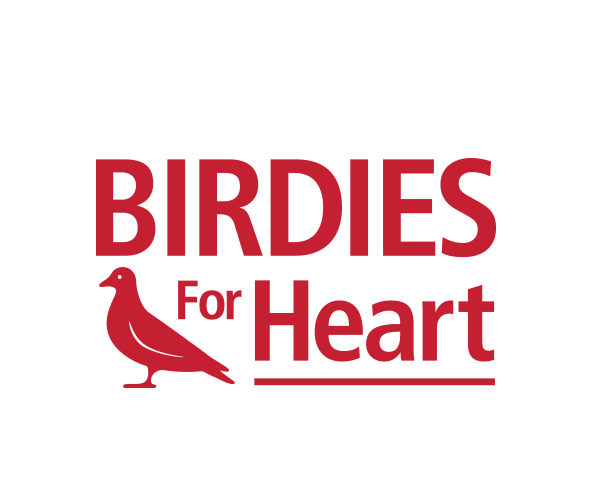 birdies-for-heart-logo-design-charity