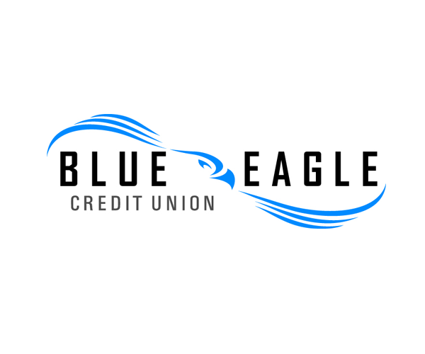 blue-eagle-credit-union-logo-design