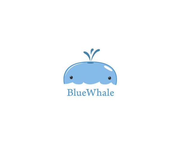 blue-whale-logo-design