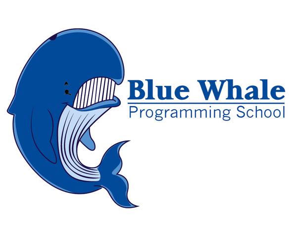 blue-whale-programing-school-logo