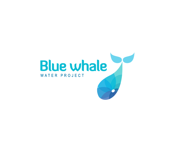 blue-whale-water-project-logo-design