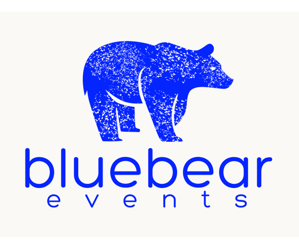 bluebear-events-logo-design