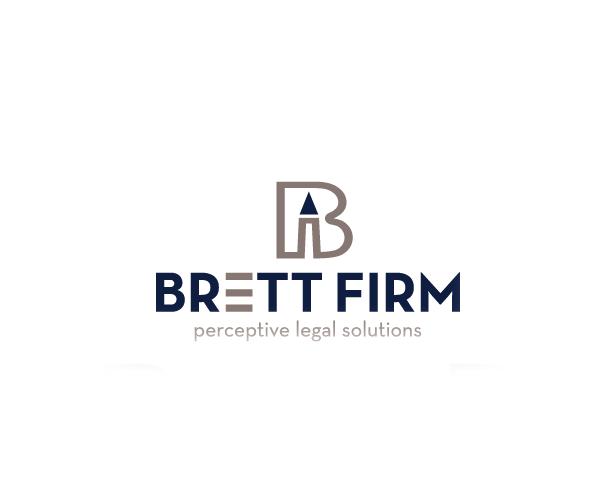 brett-firm-logo-design-legal-solustion