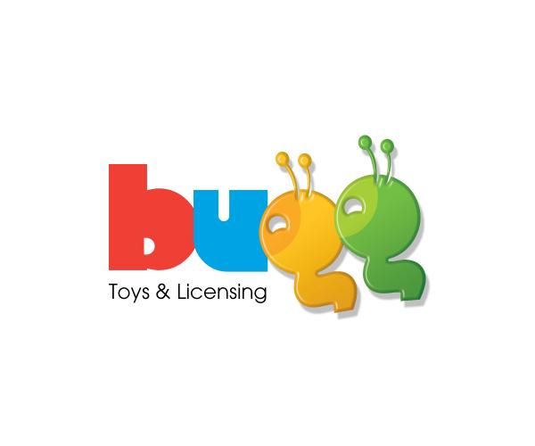 bugg-toys-logo-design