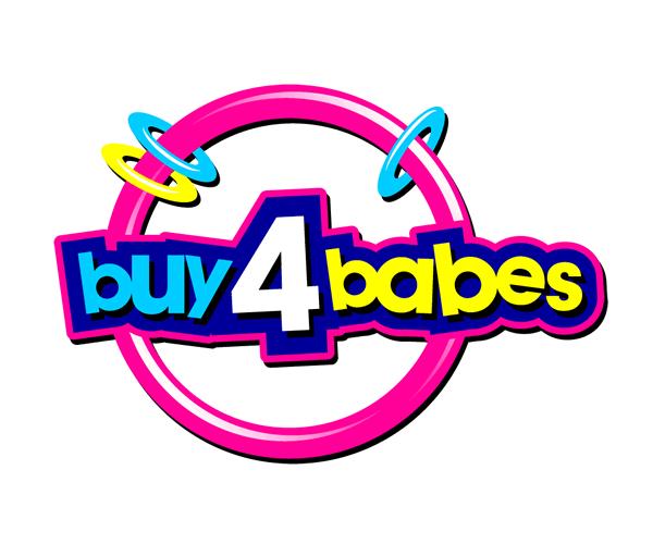 buy-4-babes-logo-design