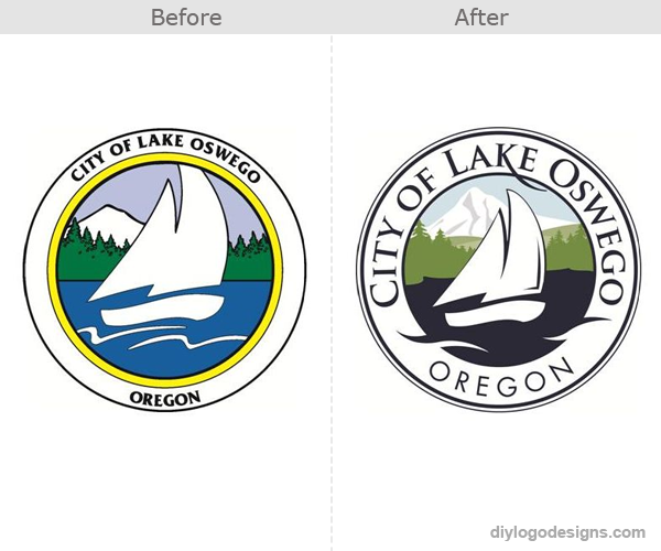city-of-lake-oswego-oregon-logo-design