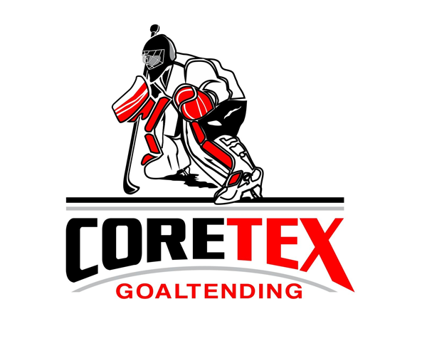 coretex-goaltending-logo-design