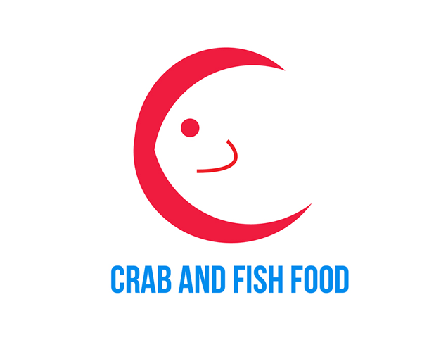 crab-and-fish-food-logo