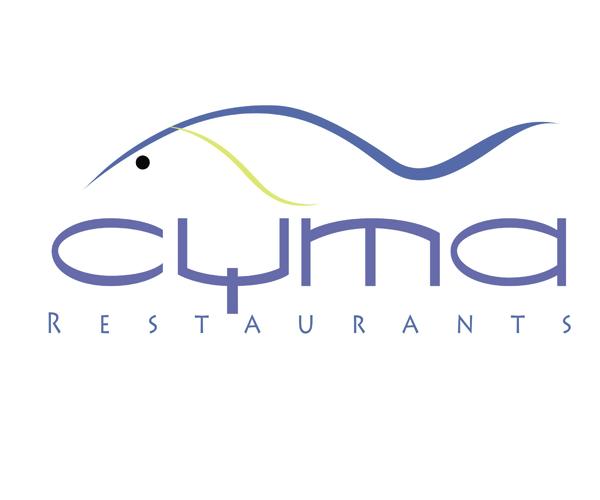 cyma-restaurants-logo-design