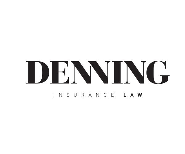 denning-insurance-law-firm-logo-design