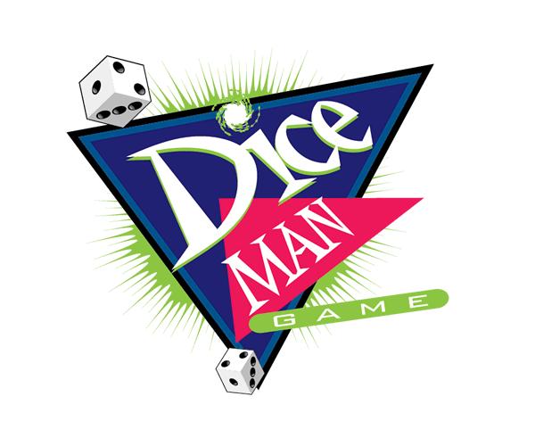 dice-man-game-logo-design