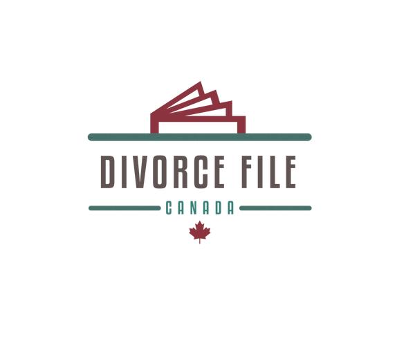 divorce-file-canada-logo-design