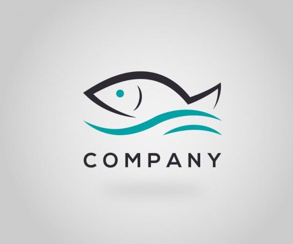 download-free-fish-company-logo-design