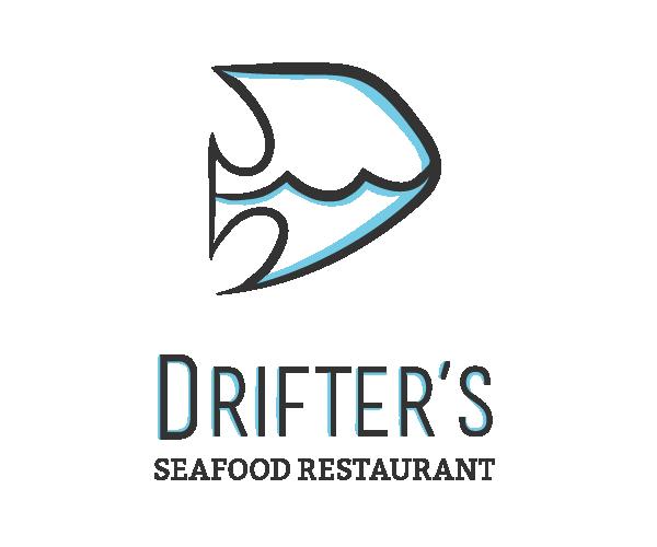 drifters-seafood-restaurant-logo-design