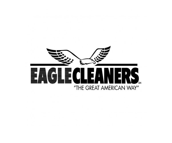 eagle-cleaners-logo-design-american