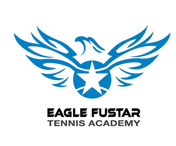 eagle-fustar-tennis-academy-logo-design