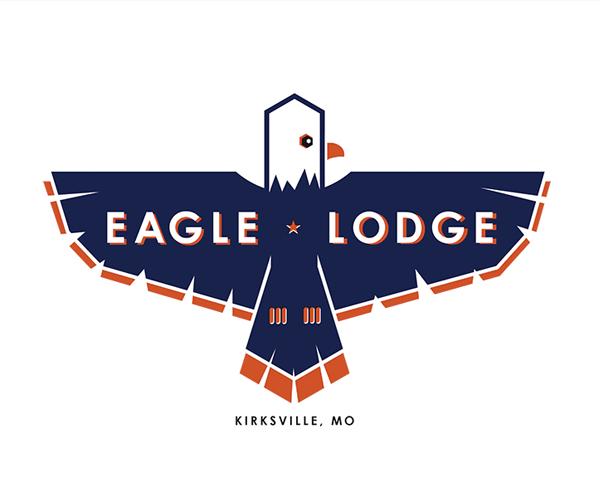 eagle-lodge-logo-design