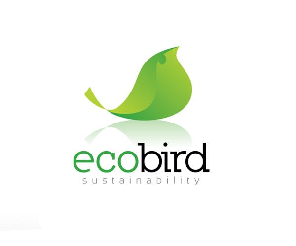 eco-bird-logo-design