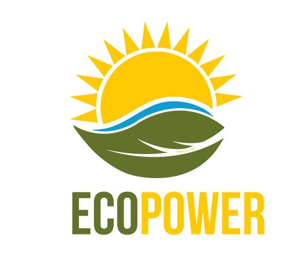 eco-power-logo-design-for-leaf