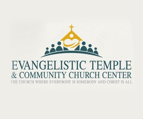 evangelistic-temple-church-center-logo-design