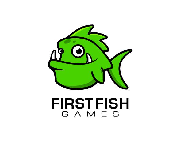 first-fish-games-logo-design