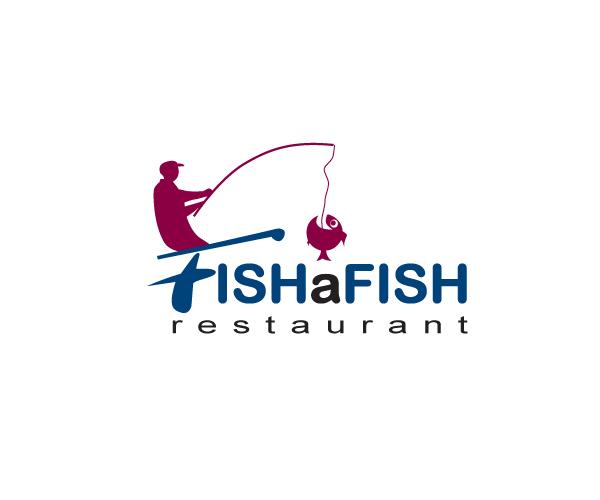 fish-a-fish-restaurant-logo-design