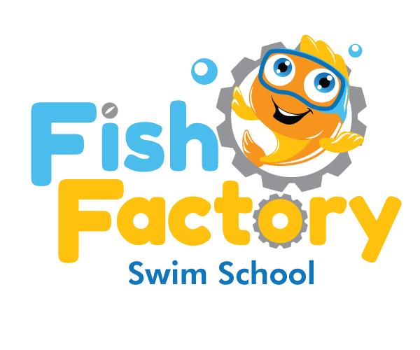 fish-factory-logo-design-for-school