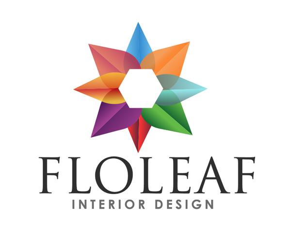 floleaf-interior-design-logo-design