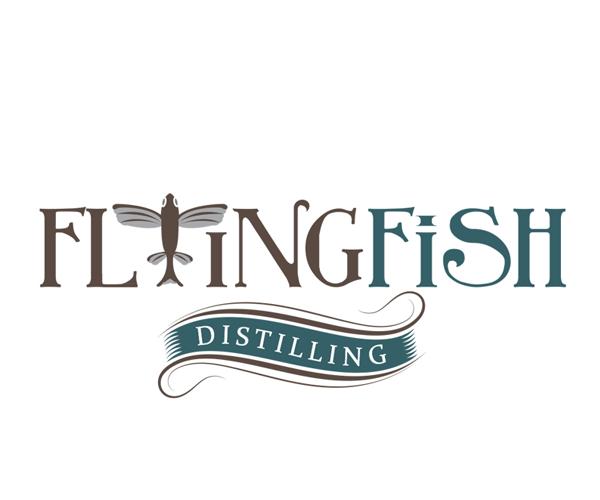flying-fish-distilling-logo-design