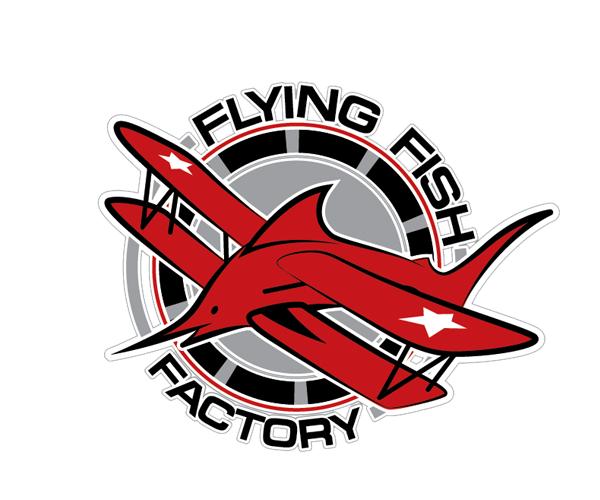 flying-fish-factory-logo-design