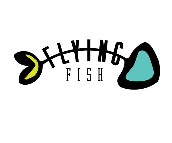 flying-fish-logo-design