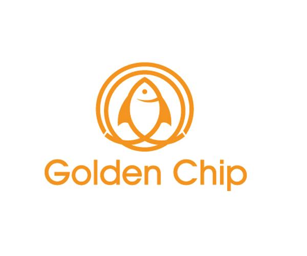 golden-chip-logo-design