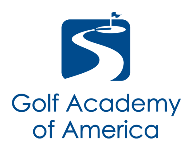 golf-academy-of-america-logo-design