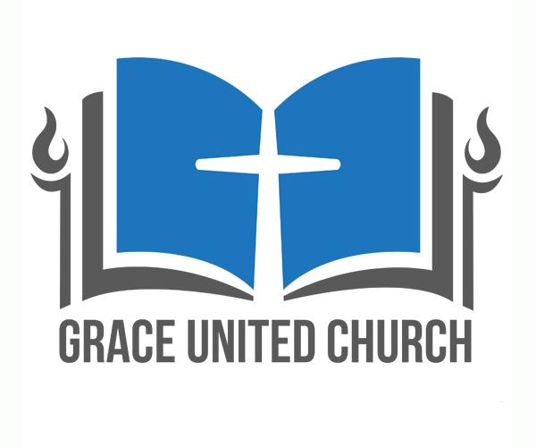 grace-united-church-logo-design-free