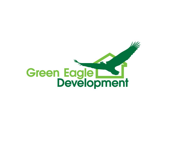 green-eagle-development-logo-design