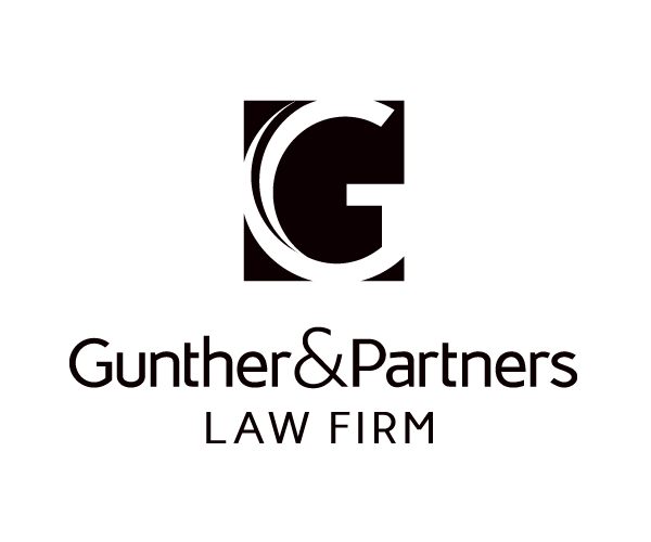 gunther-and-parthers-law-firm-logo-design