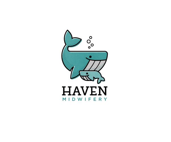 haven-midwifery-logo-design