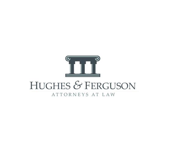 hughes-and-ferguson-law-firm-logo-design
