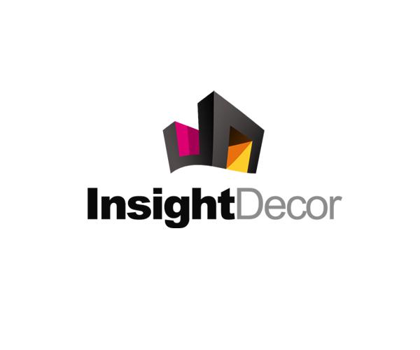 Insight Decor Logo Design For Home
