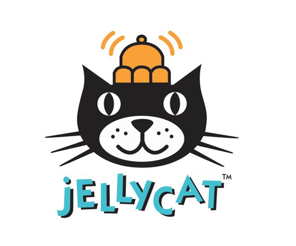 jelly-cat-logo-design